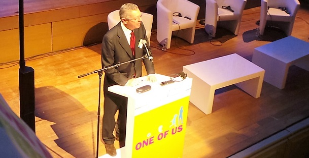 Alberto Ruiz-Gallardón interviene en el I Foro Europeo One of Us / Actuall