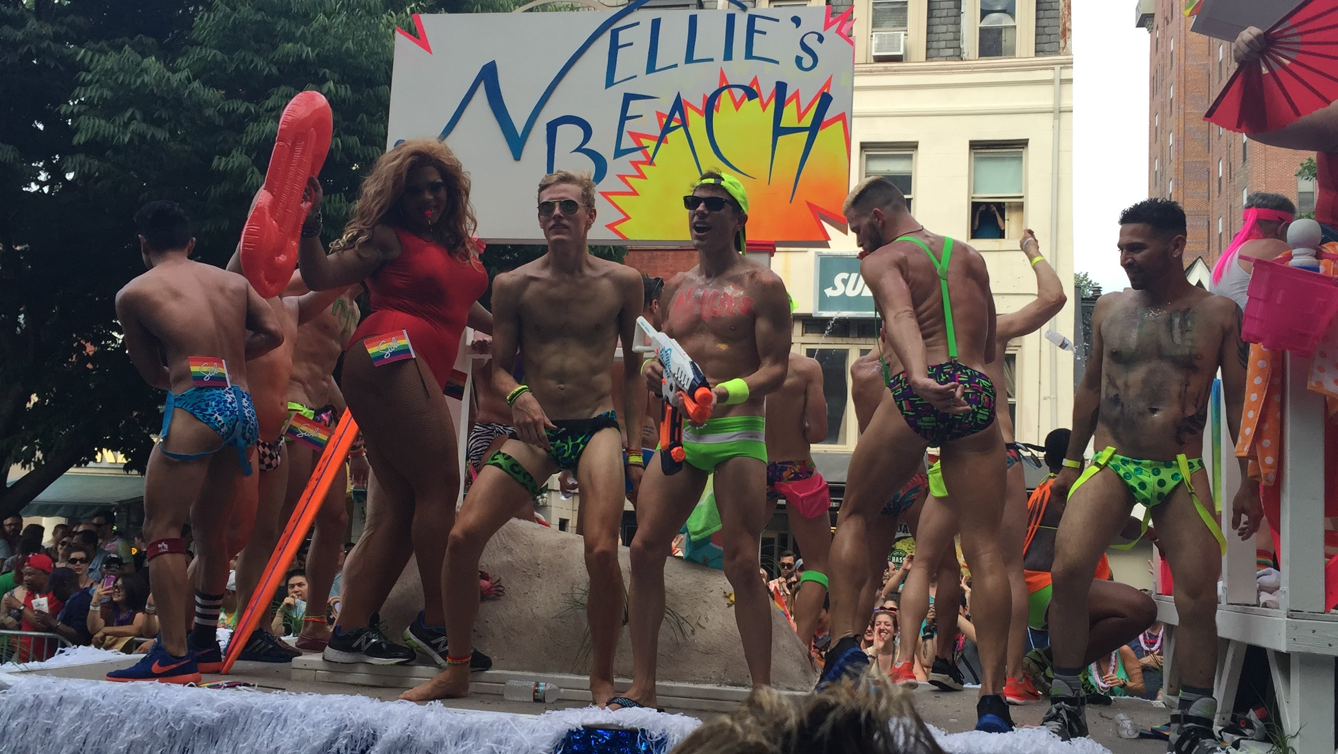 Desfile homosexualista en Washington DC (EE UU) en 2015/ Youtube