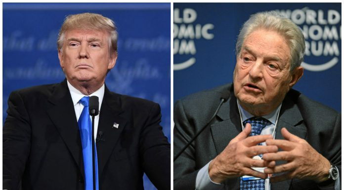 Donald Trump y George Soros