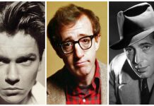 River Phoenix, Woody Allen y Humphrey Bogart, tres estrellas de Hollywood