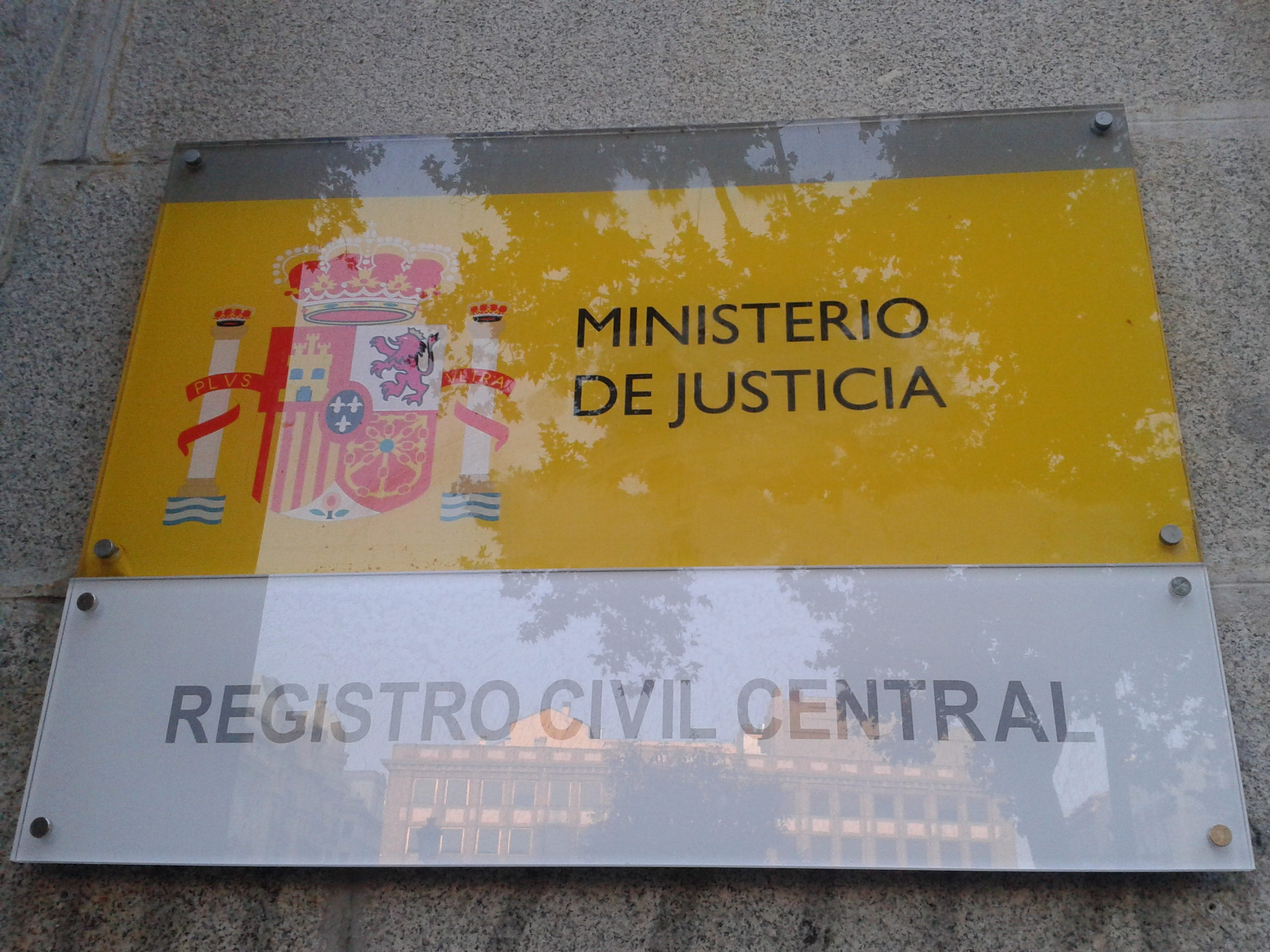 Registro civil central jacinto benavente actuall for Oficina registro comunidad de madrid