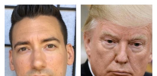 David Daleiden y Donald Trump.