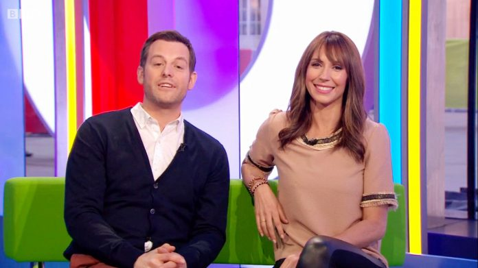 Una captura del programa The One Show.