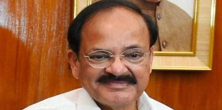 El actual vicepresidente de India, Venkaiah Naidu.