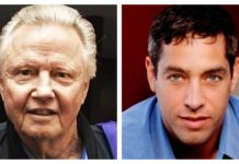 El actor ganador del Premio de la Academia, Jon Voight, y el actor y productor, Nick Loeb.