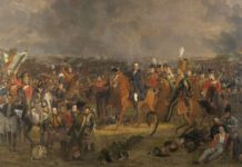 'La batalla de Waterloo', obra de Jan Willem Pieneman.